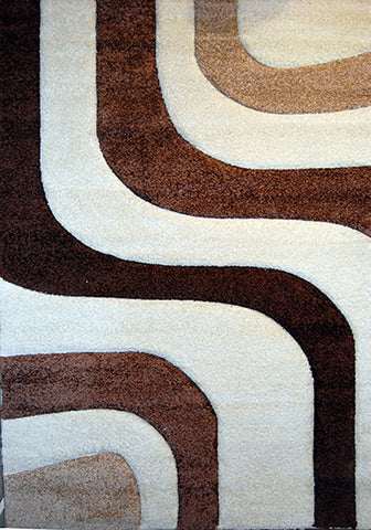 Nova 8935 Cream Extra Large Rug in Size 240cm x 340cm-Rugs 4 Less