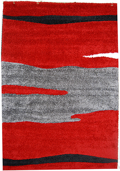 Nova 8987 Red Extra Large Rug in Size 240cm x 340cm-Rugs 4 Less