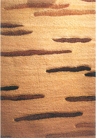 Nova 9025 Beige Extra Large Rug in Size 240cm x 340cm-Rugs 4 Less