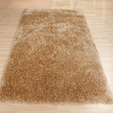 Pluto Shag Rug Biscuit 110x160cm-Rugs 4 Less