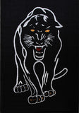 Animal Print Rug Panther in Size 140cm x 190cm-Rugs 4 Less