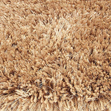 Pluto Biscuit Small Shag Rug in Size 110cm x 160cm-Rugs 4 Less