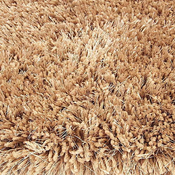 Pluto Shag Rug Biscuit 110x160cm by Rugs4Less