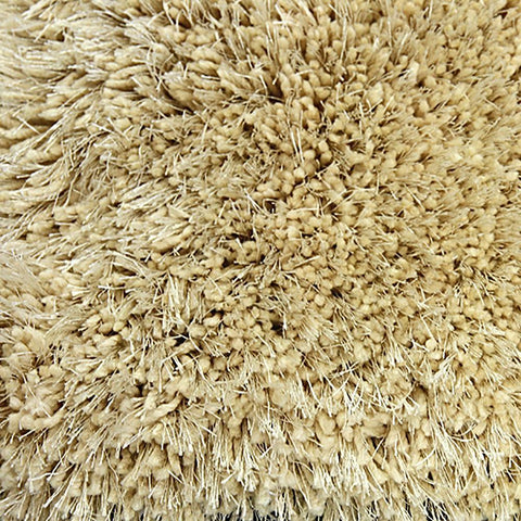 Pluto Latte Small Shag Rug in Size 110cm x 160cm-Rugs 4 Less