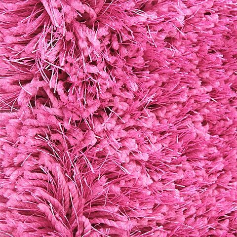 Pluto Magenta Shag Rug in Size 150cm x 220cm-Rugs 4 Less