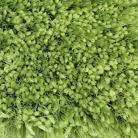 Pluto Light Green Small Shag Rug 110x160cm-Small Shag Rug-Rugs 4 Less