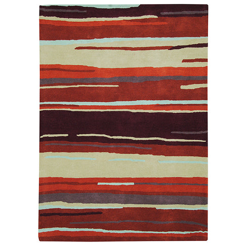 Province Large Wool Rug Rustic in Size 200cm x 300cm-Rugs 4 Less