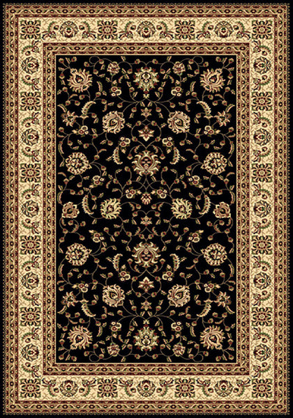 Residence Rug 9777 Black 240x340cm by Rugs4Less