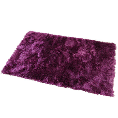 Satin Purple Mat in Size 55cm x 85cm