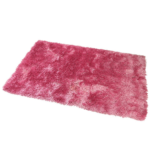 Satin Baby Pink Mat in Size 55cm x 85cm-Rugs 4 Less