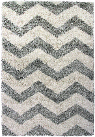 Style-7 Grey Chevron Extra Large Rug 240x330cm-Extra Large Modern Rug-Rugs 4 Less