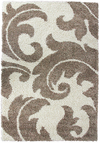 Style-8 Taupe Extra Large Rug in Size 240cm x 330cm-Rugs 4 Less