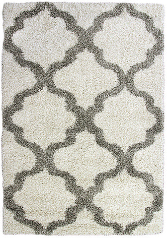 Style-9 Cream Large Rug 200x290cm-Large Modern Rug-Rugs 4 Less