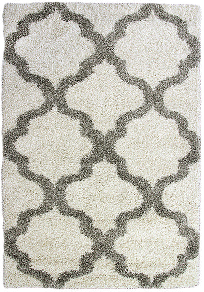 Style-9 Cream Large Rug in Size 200cm x 290cm-Rugs 4 Less