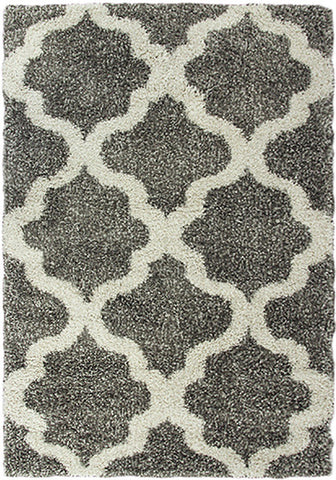 Style-9 Grey Extra Large Rug in Size 240cm x 330cm-Rugs 4 Less