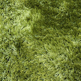 Sunny Shag Rug Green 110x160cm by Rugs4Less