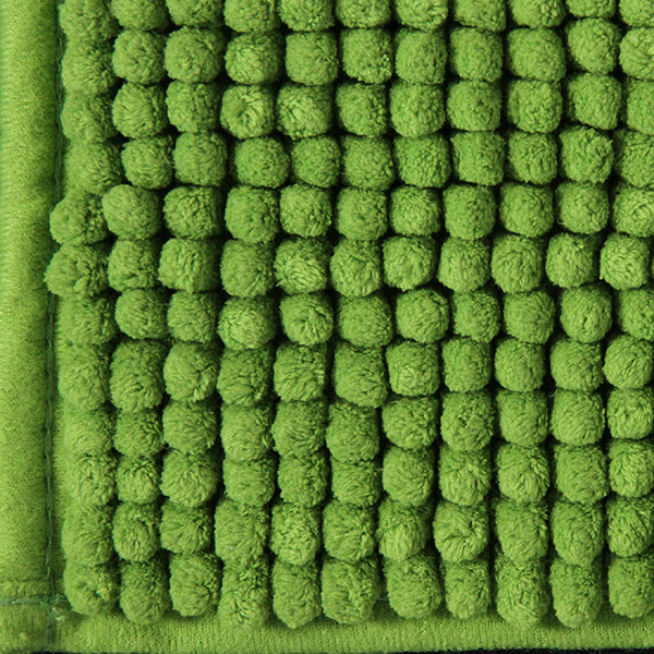 Toggle Bath Mat - Green - Rugs 4 Less