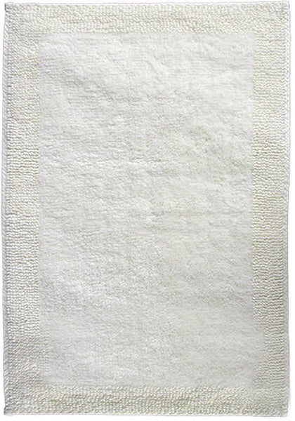 Cotton Bath Mat - Cream by Rugs4Less