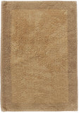 Border Cotton Bath Mat New Linen in Size 50cm x 80cm-Rugs 4 Less