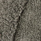 <img>Luxury Border Cotton Bath Mat Charcoal in Size 50cm x 80cm-Rugs 4 Less