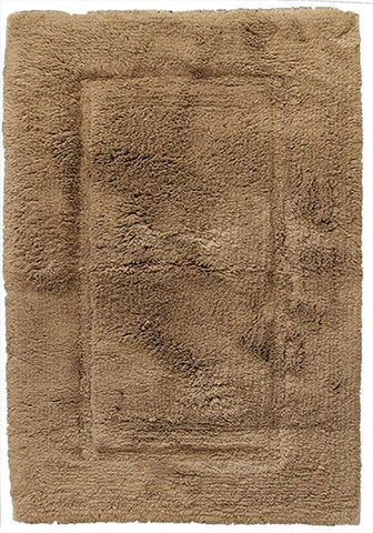 Luxury Border Cotton Bath Mat New Linen-Bath Mat-Rugs 4 Less