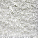 Drylon Large Bath Mat Arctic White in Size 60cm x 98cm-Rugs 4 Less
