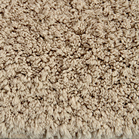 Drylon Bath Mat - Light Taupe by Rugs4Less