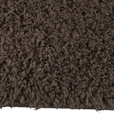 Drylon Bath Mat Tudor Brown-Bath Mat-Rugs 4 Less