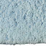 Drylon Bath Mat Blue Frost in Size 49cm x 80cm-Rugs 4 Less