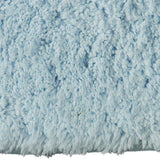 Drylon Large Bath Mat Blue Frost in Size 60cm x 98cm-Rugs 4 Less