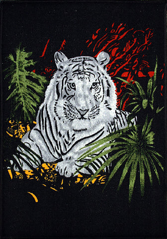 Animal Large Rug Tiger 140x190cm-Animal Rug-Rugs 4 Less