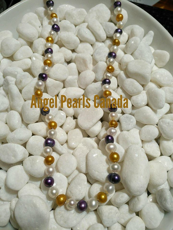 Glitz & Glamour Pearl Necklace