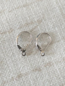 SS Lever Back Earring Mounts