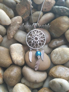 SS Dream Catcher Pendant