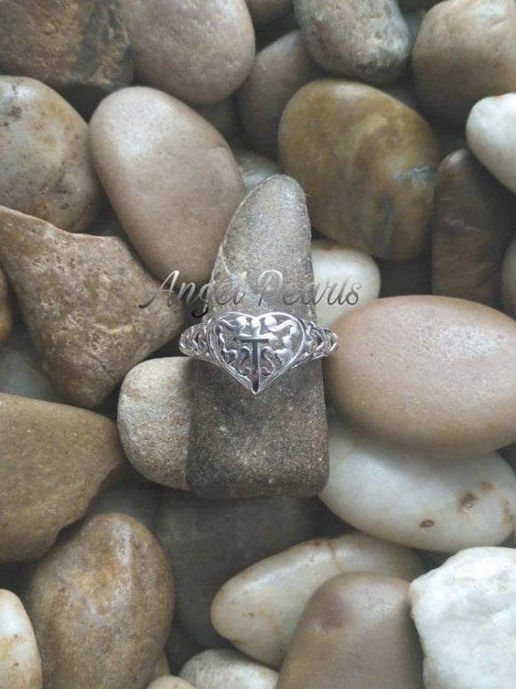 SS Filigree Ring