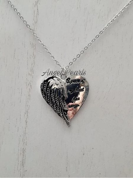 SP A Part Of My Heart Pendant