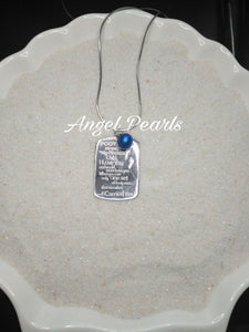 SS Footprints In The Sand Pendant