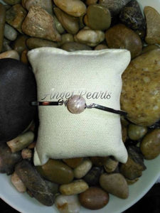 SS Pearl Bangle Bracelet