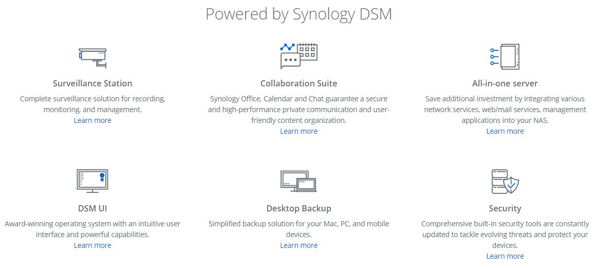 Synology DS918+ 4 Bay DiskStation 4GB NAS