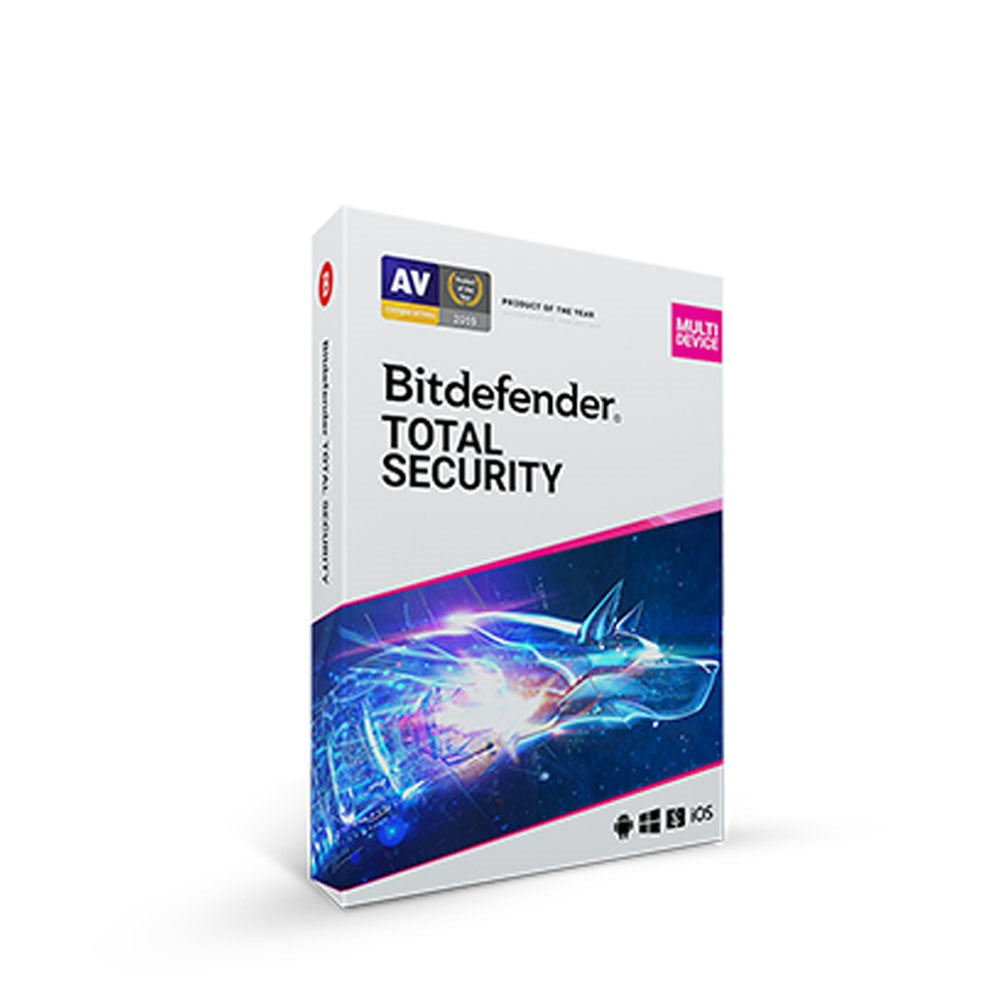 Bitdefender Total Security Multi Device - 1 Device/3 Devices/5 Devices (1 Year)