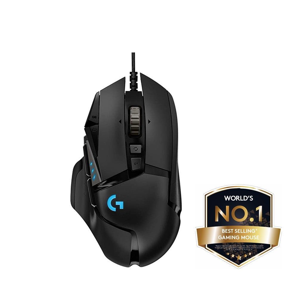 Logitech G502 Hero Wired Gaming Mouse (10.10 x Halloween Month Sale)