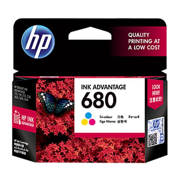 HP (680) F6V26AA Color Ink Cartridge