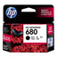 HP (680) F6V27AA Black Ink Cartridge