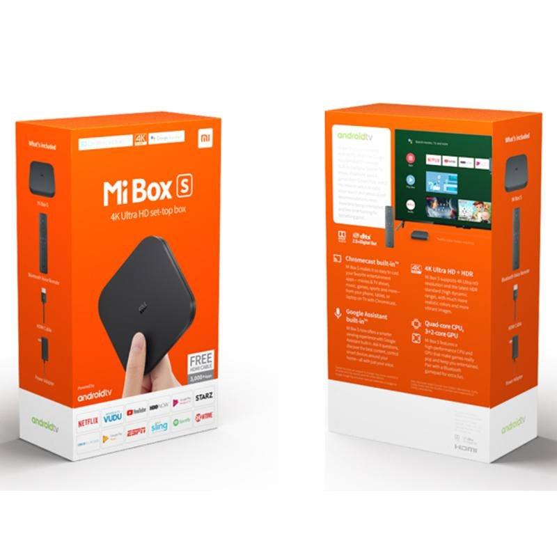 Xiaomi Mi Box S Media Player (MR160BK)