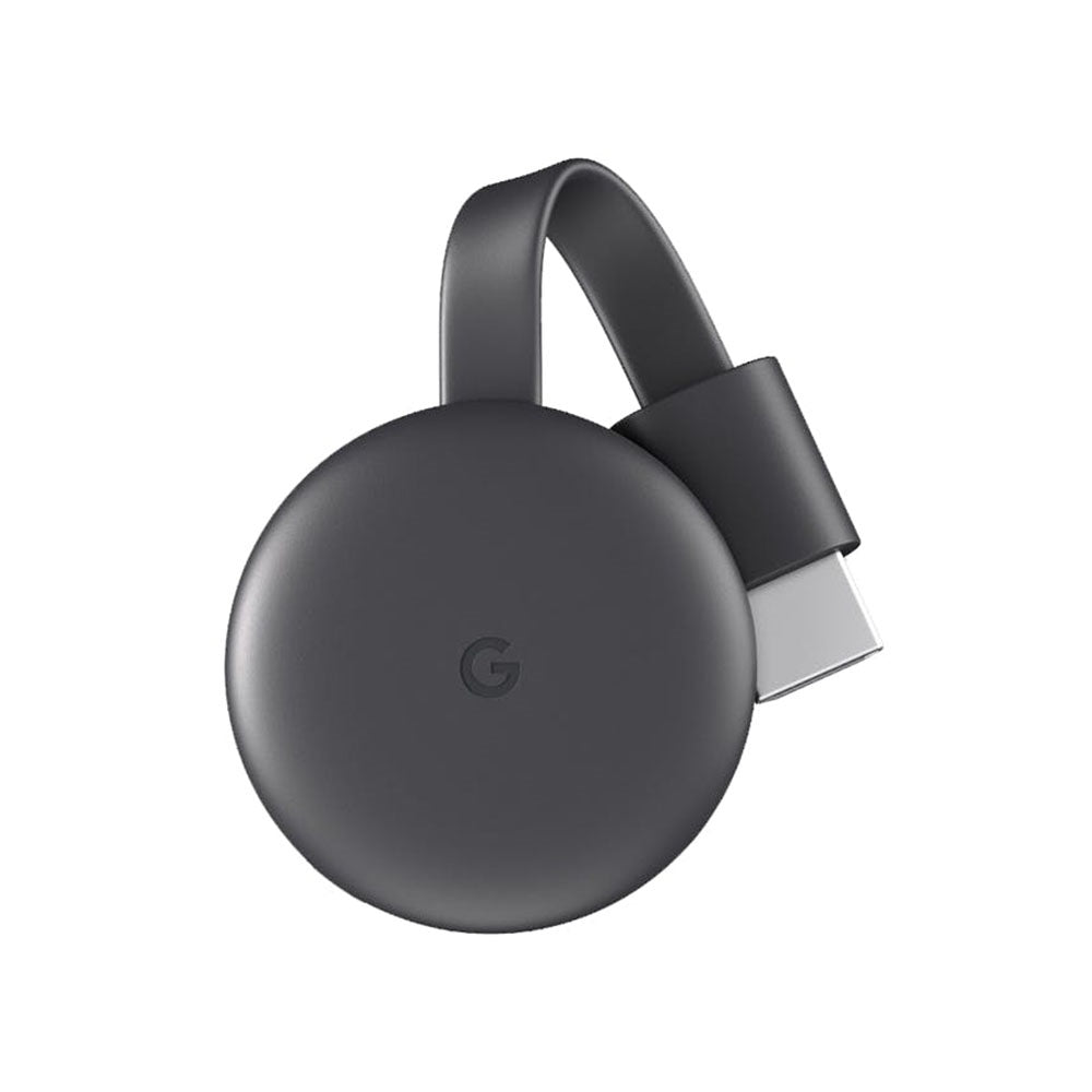 Google Chromecast 3 (US connector) HDMI Streaming Media Player for TV Dongle Meida Player (MR191BK)