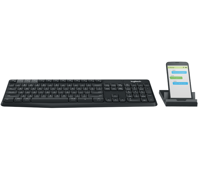 Logitech K375s Multi-Device Wireless Keyboard