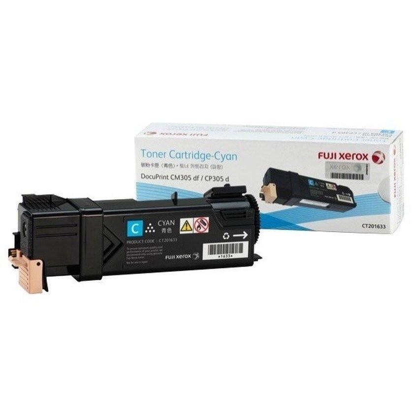 Fuji Xerox CP305d/CM305df (CT201633)Toner Cartridge - Cyan