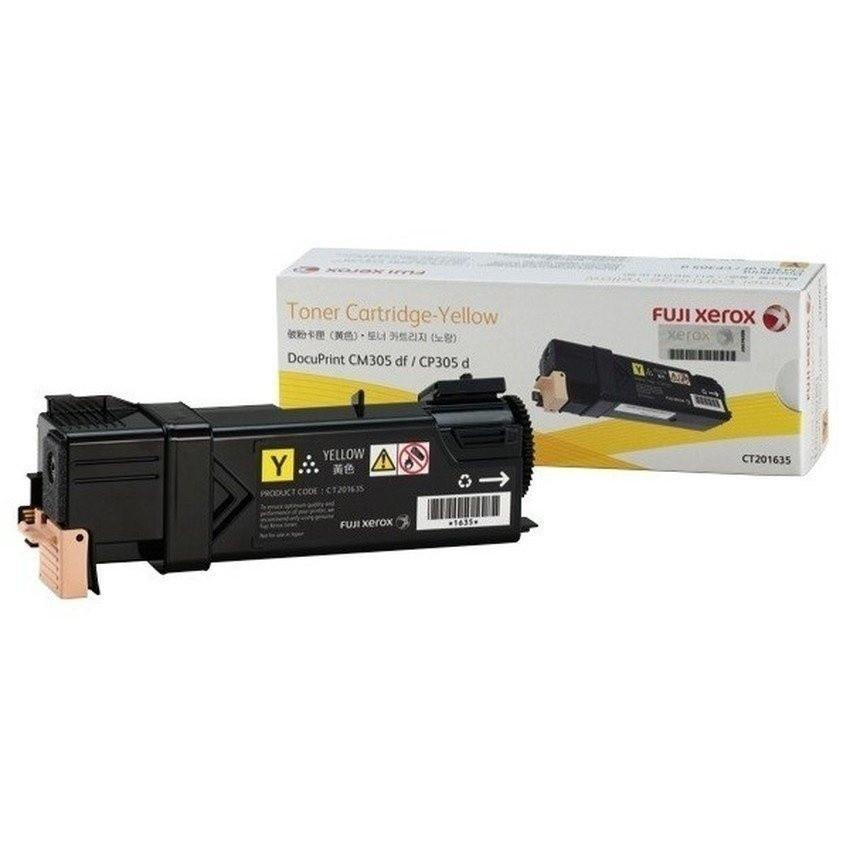 Fuji Xerox CP305d/CM305df (CT201635)Toner Cartridge - Yellow