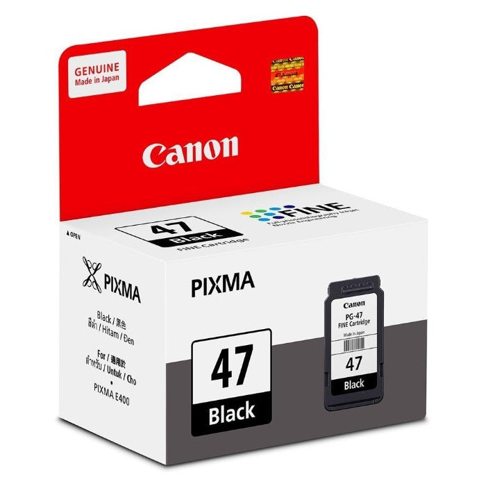 Canon PG-47 Ink Cartridge ( E400 / E410 / E460 / E470 / E480 / E3170 )