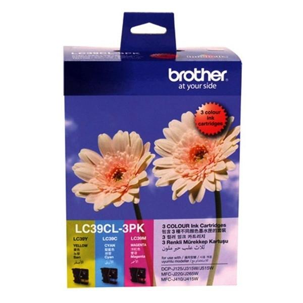 Brother LC39CL-3PK Colour Value Pack